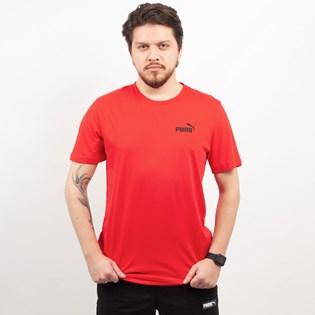 Camiseta Puma Masculina Essentials Tee Red 85174105