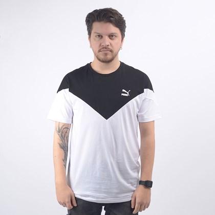 Camiseta Puma Masculina Iconic MCS Tee White 59644402