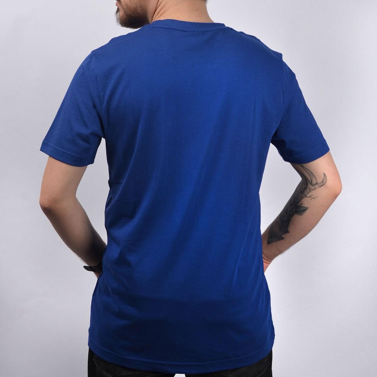 Camiseta Puma Masculina Logo Tee Azul 57632127