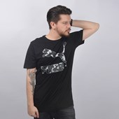 Camiseta Puma Masculina Logo Tee Preto 57632151