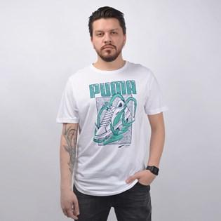 Camiseta Puma Masculina Sneaker Tee Branco 58019802