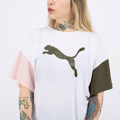 Camiseta Puma Modern Sports Fashion Tee White 589482-02