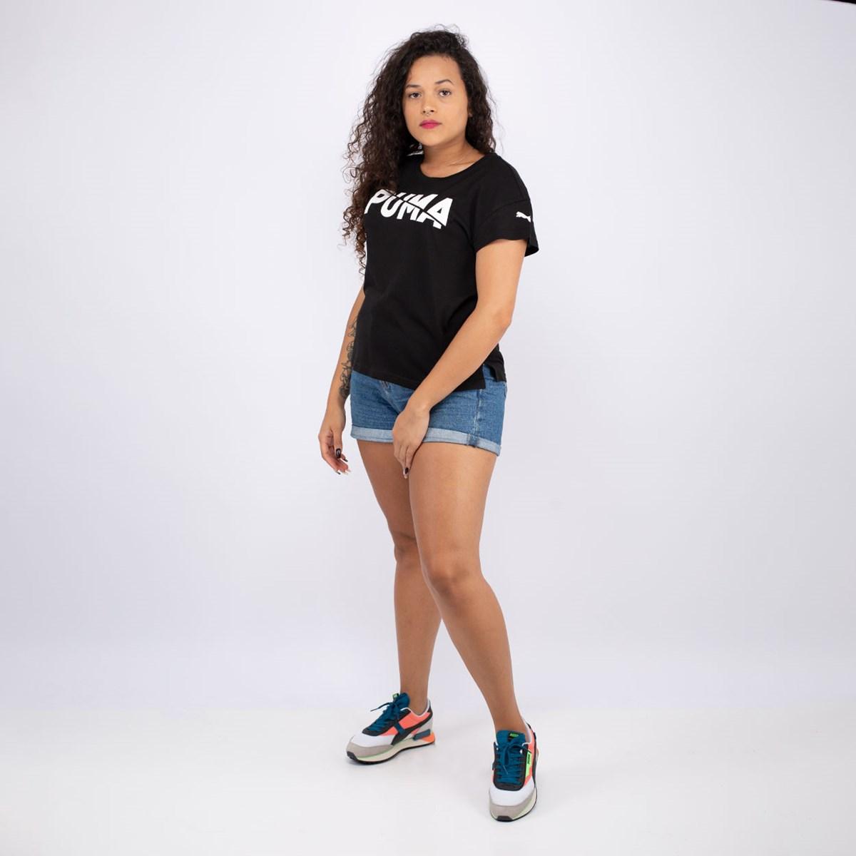 Camiseta Puma Modern Sports Graphic Black 583536-01