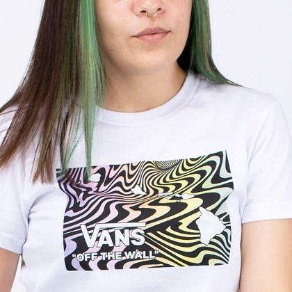 Camiseta Vans Aloe Haw White VN0A4ULXWHT