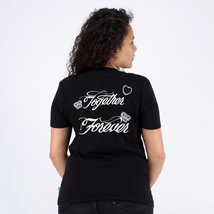 Camiseta Vans Better Together Forever BF Black VN0A53Q8BLK