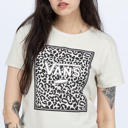 Camiseta Vans Boxed In Animal Sandshell VN0A5I7YEDQ