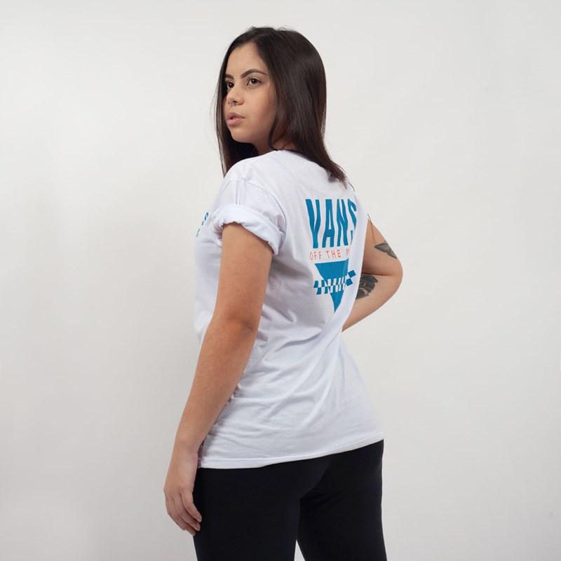 Camiseta Vans Boyfriend Sound White VNB15A3UFS8