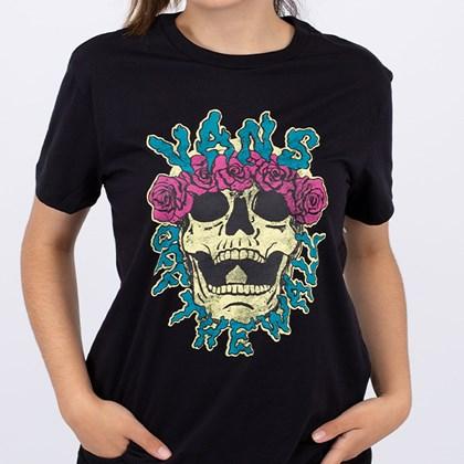 Camiseta Vans Brancho Black VN0A4SE6BLK