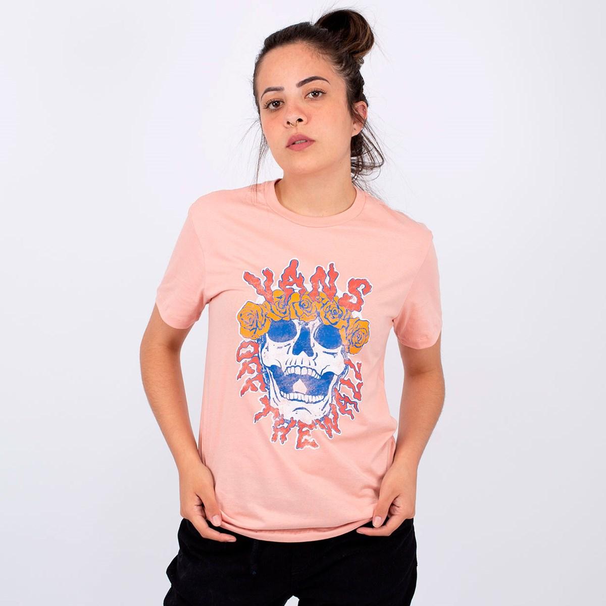 Camiseta Vans Brancho Rose Dawn VN0A4SE6ZLS