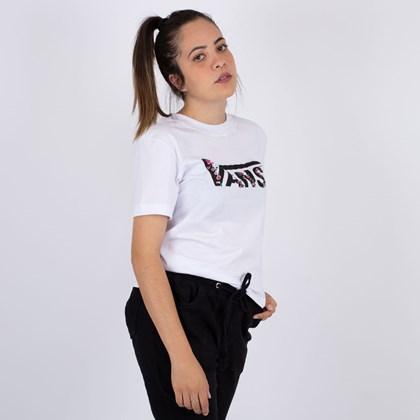 Camiseta Vans Bundlez Boxy Tee White VN0A4UMNWHT