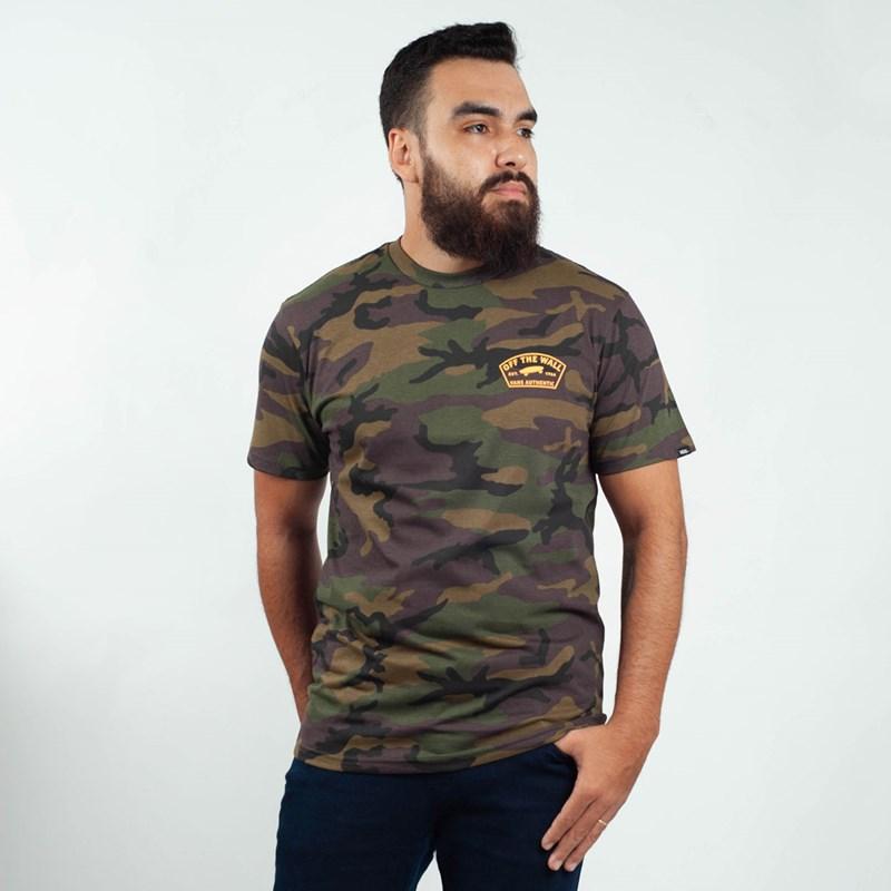 Camiseta Vans Custom Workwear Camo VNBA3W1OCMA
