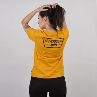 Camiseta Vans Feminina Full Patch Crew Tee Mango Mojito VN0A3UP5UXM