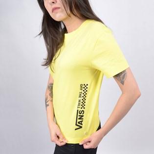 Camiseta Vans Feminina WM Turvy Boxy Lemon Tonic VN0A4DNXVD8