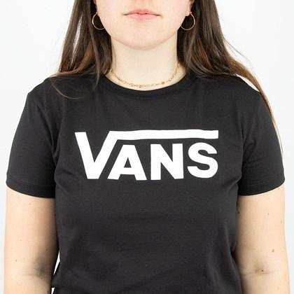 Camiseta Vans Flying Crew Tee Black VN0A4BSTBLK