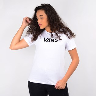 Camiseta Vans Flying V Classic White VN0A47WHWHT