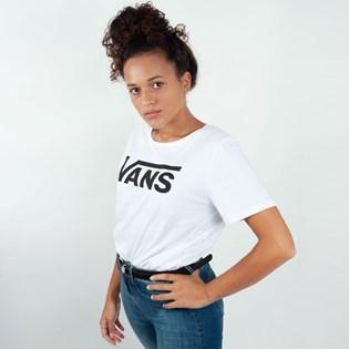 Camiseta Vans Flying V Crew White VNB144AYWHT