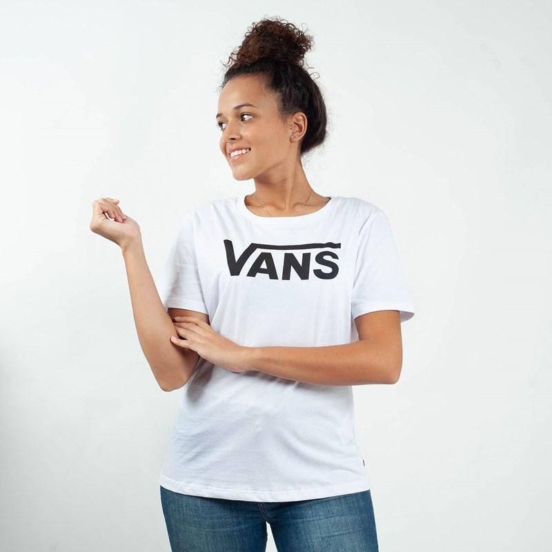 6a78c4be594 Camiseta Vans Flying V Crew White VNB144AYWHT - Loja Virus