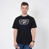 Camiseta Vans Full Patch Black White VNB20QN8Y28