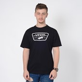 Camiseta Vans Full Patch Black White VNB20QN8Y28