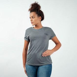 Camiseta Vans Full Patch Crew Asphalt Heather VNB14AK6O8W