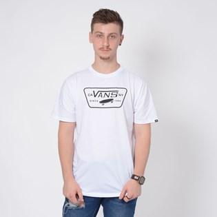 Camiseta Vans Full Patch White White Black VNB00QN8WHT