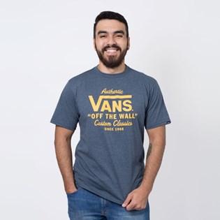 Camiseta Vans Holder Street II Navy Heather VNB236O110I