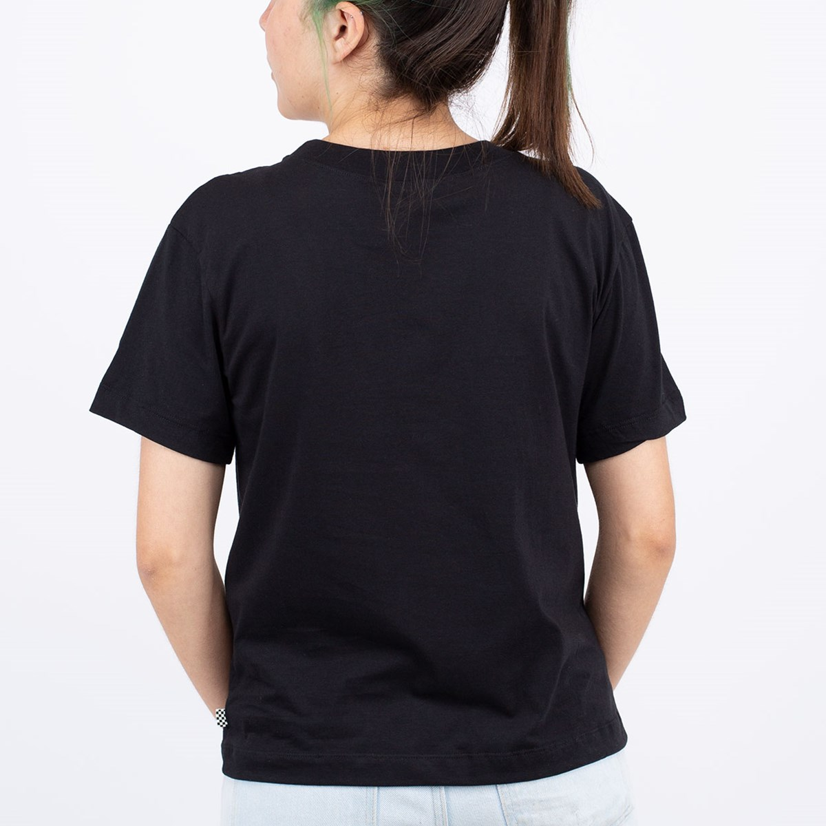 Camiseta Vans Junior V Boxy Black VN0A4MFLBLK