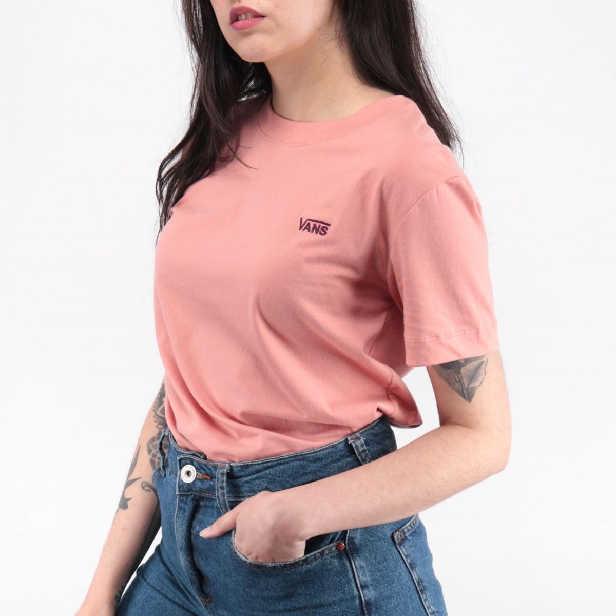 Camiseta Vans Junior V Boxy Rose Dawn VN0A4MFLZLS
