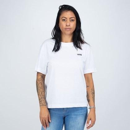 Camiseta Vans Junior V Boxy White VN0A4MFLWHT