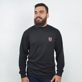 Camiseta Vans Led Zeppellin LS Black VN0A45C8BLK