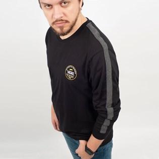 Camiseta Vans Manga Longa Striker Black VN0A3W2IBLK