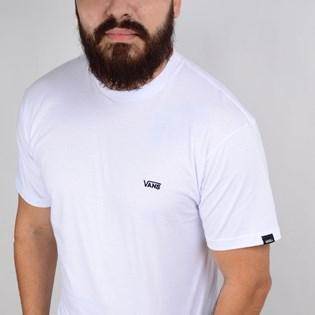 Camiseta Vans Masculina Core Basics Tee White Black VN090012YB2