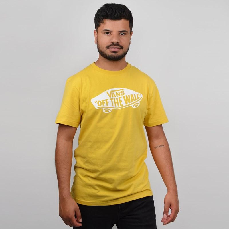 Camiseta Vans Masculina Custom OTW Sulphur White VN000JAYTR9