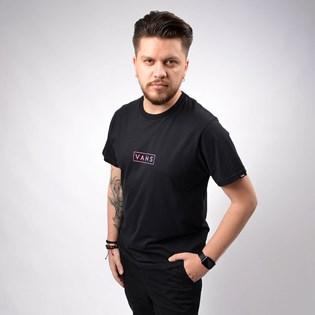 Camiseta Vans Masculina Easy Box SS Black VN0A4BSSBLK