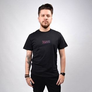 Camiseta Vans Masculina Easy Box SS Black VN0A4BSSBLK