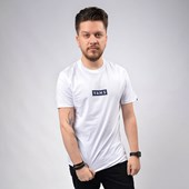 Camiseta Vans Masculina Easy Box SS White VN0A4BSSWHT