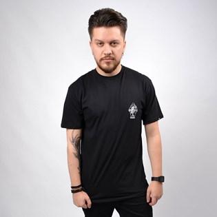Camiseta Vans Masculina Helican SS Black VN0A49PYBLK