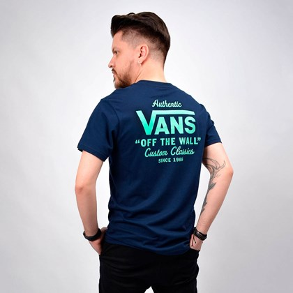 Camiseta Vans Masculina Holder Street II Dress Blues VN0A36O1YIY