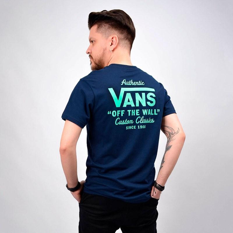 Camiseta Vans Masculina Holder Street II Dress Blues VN0A36O1YIY