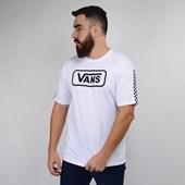 Camiseta Vans Masculina Manga Curta Fun Badge OS SS White VN0A47WPWHT