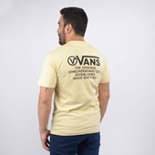 Camiseta Vans Masculina MN Distortion Type SS Double Cream VN0A49PVYKA
