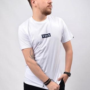 Camiseta Vans Masculina Vans Easy Box SS White VN0A4BSSWHT