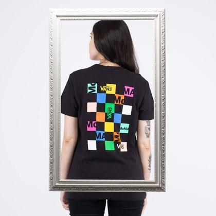Camiseta Vans MoMA Brand Tee Black VN0A4SBZ1PJ