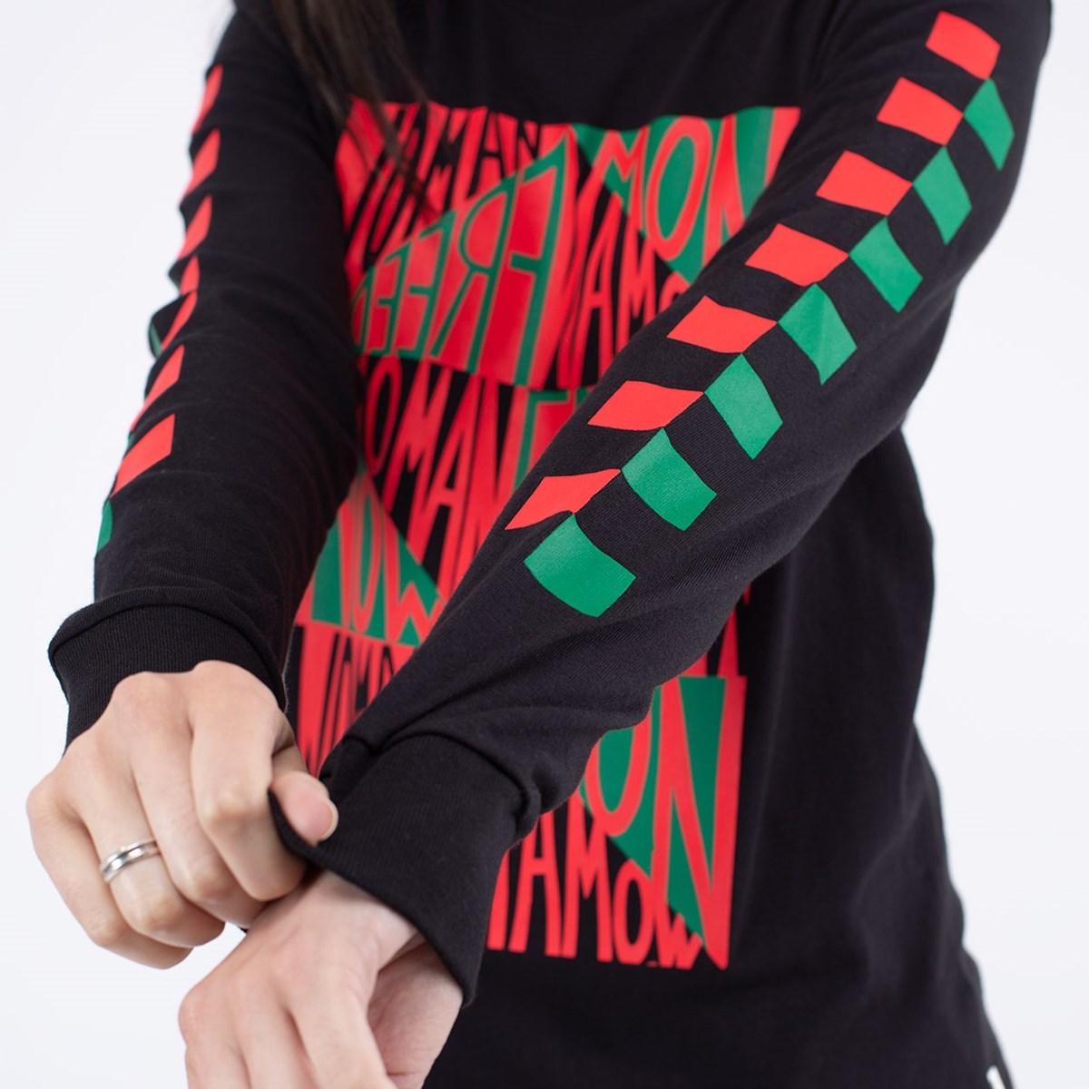 Camiseta Vans MoMA Faith Ringgold Manga Longa Tee Black VN0A4SC81IC