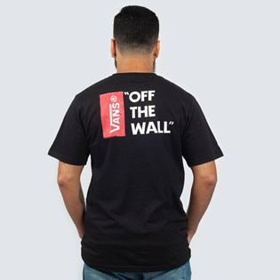 Camiseta Vans Off The Wall Black VNB005Y0BLK