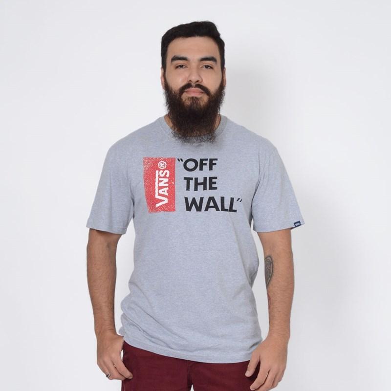 Camiseta Vans Off The Wall II Grey Heather VN0B02O1GRH