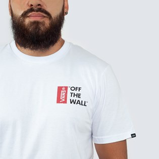 Camiseta Vans Off The Wall White VNB005Y0WHT