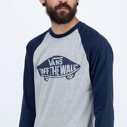 Camiseta Vans OTW Raglan Athletic Heather VN0A4A5AKOO