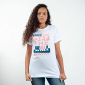 Camiseta Vans Oversized Traffic Jammer White VNBA3UM7WHT