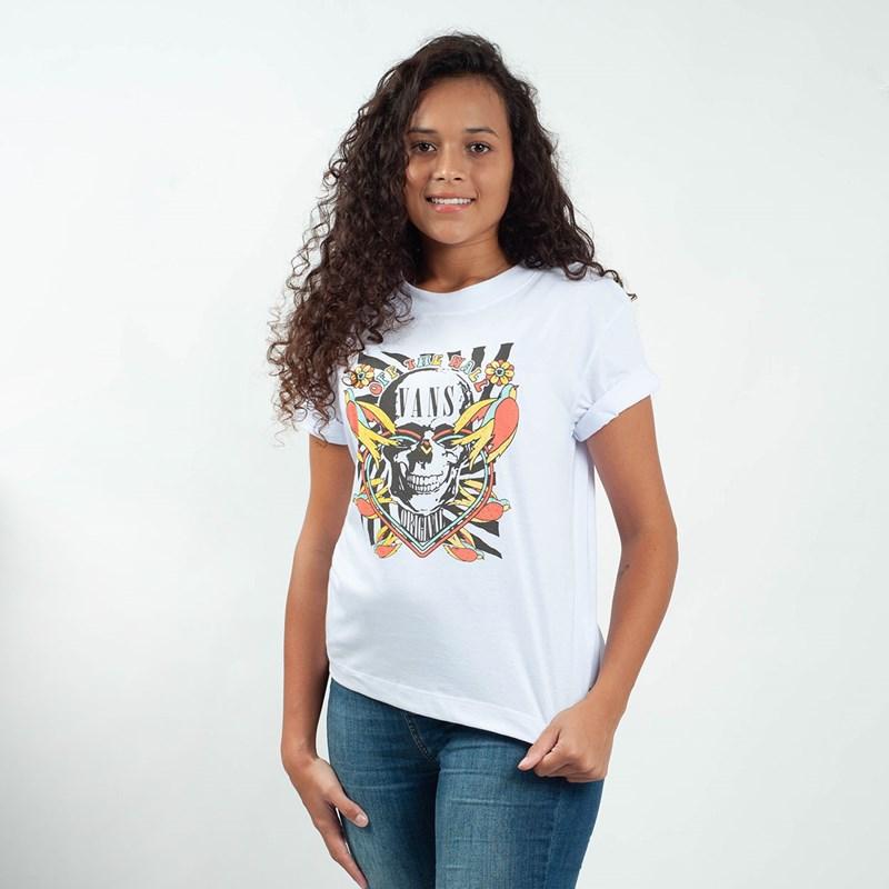 Camiseta Vans Peace Kamikaze White VNBA3ULQWHT